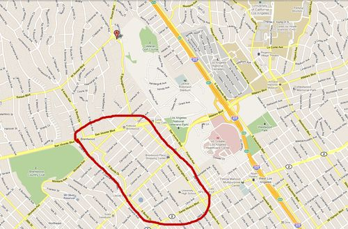 Brentwood map