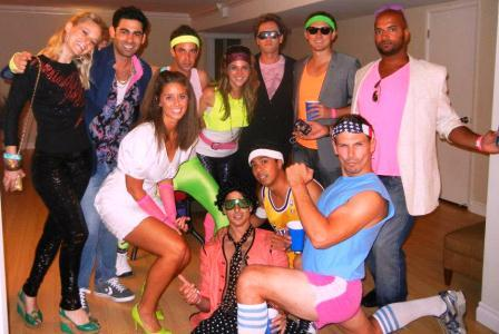 80s party group