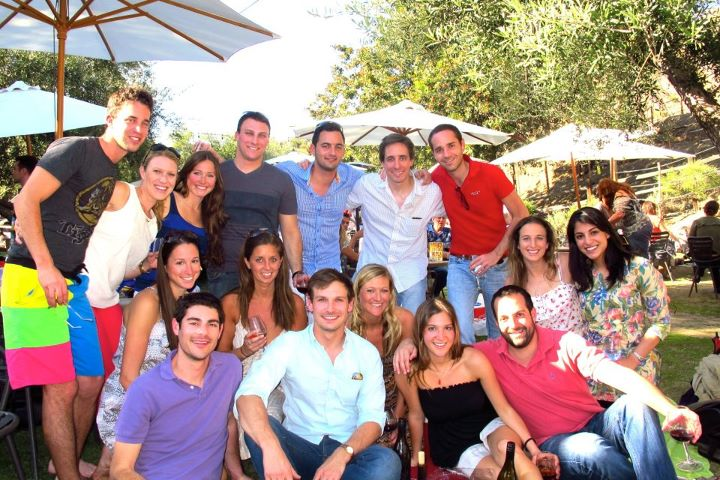Winery friends pic