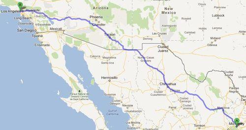 Map Mty LA