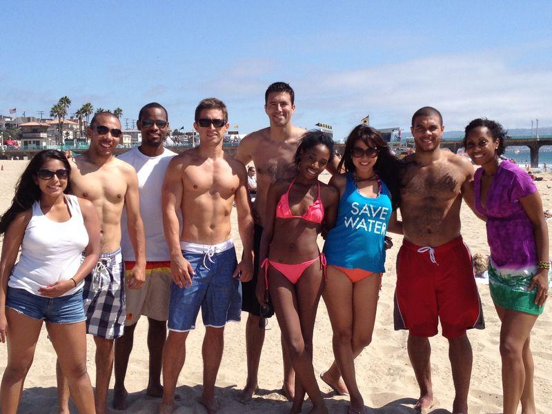 UCLA Anderson Consortium students at Manhattan Beach