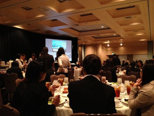 NAAMBA dinner event