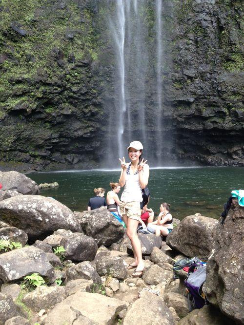 Hawaii hanakapiai falls me