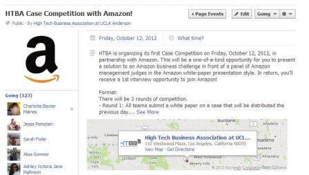 HTBA Case Competition with Amazon! small