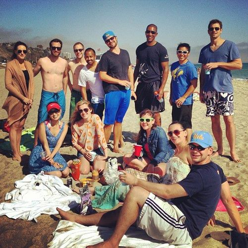 Beach meetup