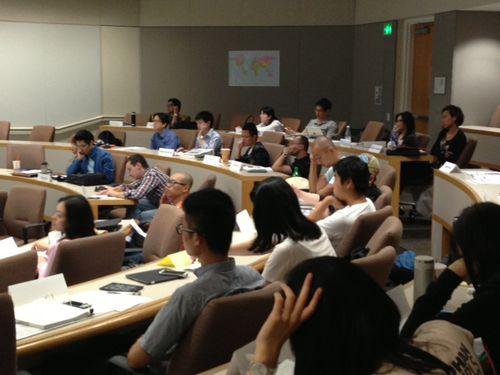 IPO 2013 classroom