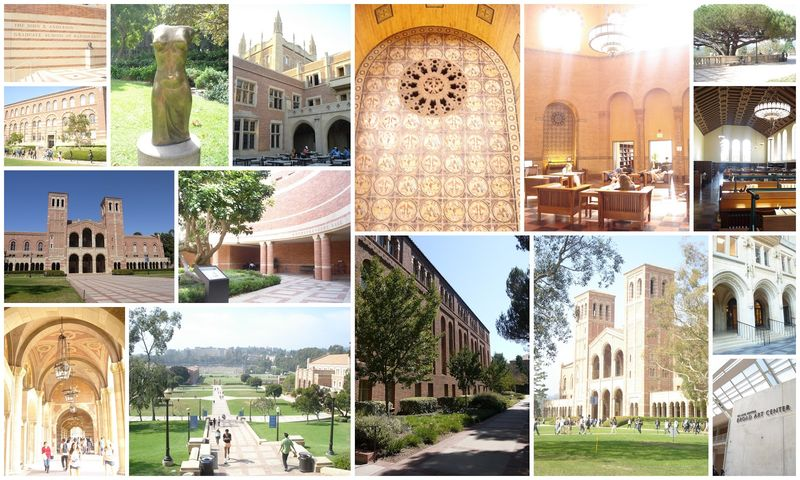 UCLA campus collage