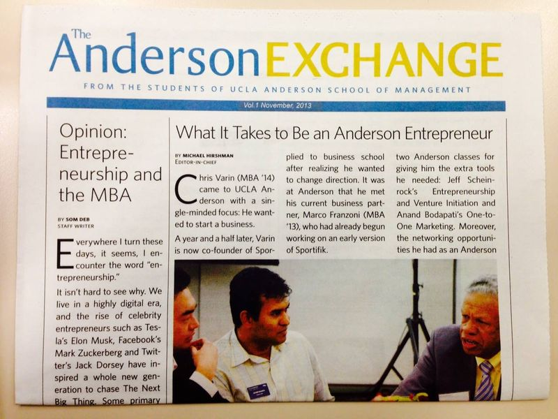 Anderson exchange