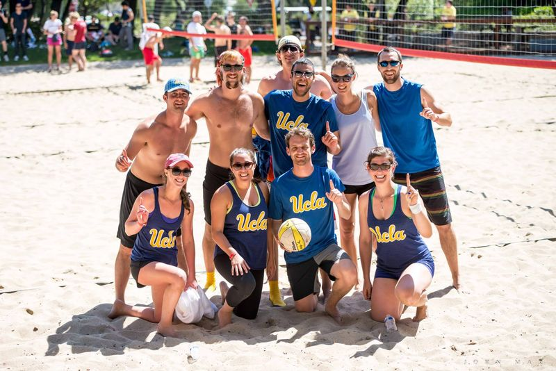 C4C co-ed volleyball champs