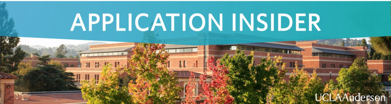 ucla anderson application insider essays application  application insider banner final